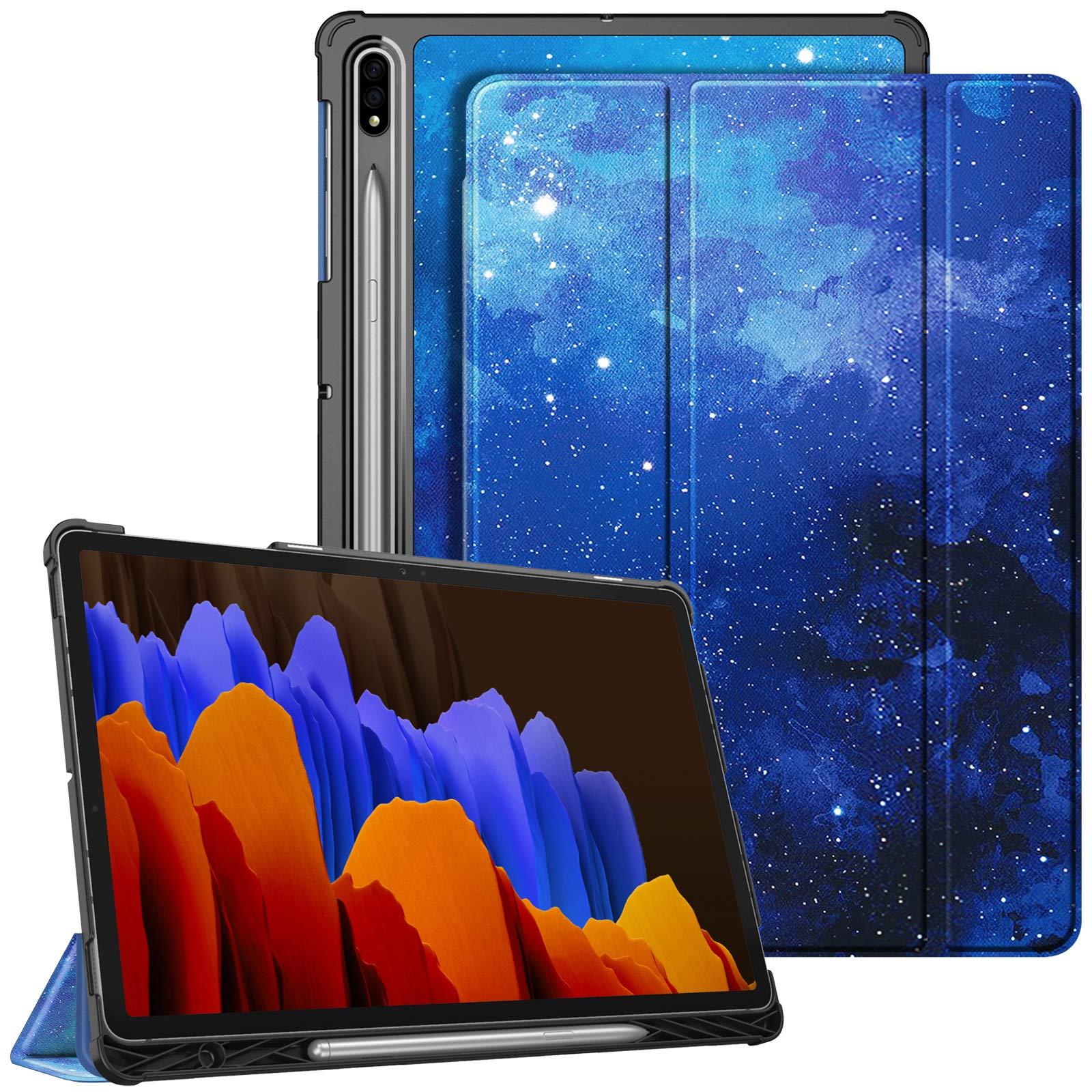 Funda para Samsung 12.4 Tab S7 Plus SM-T970 2020 Starry Sky
