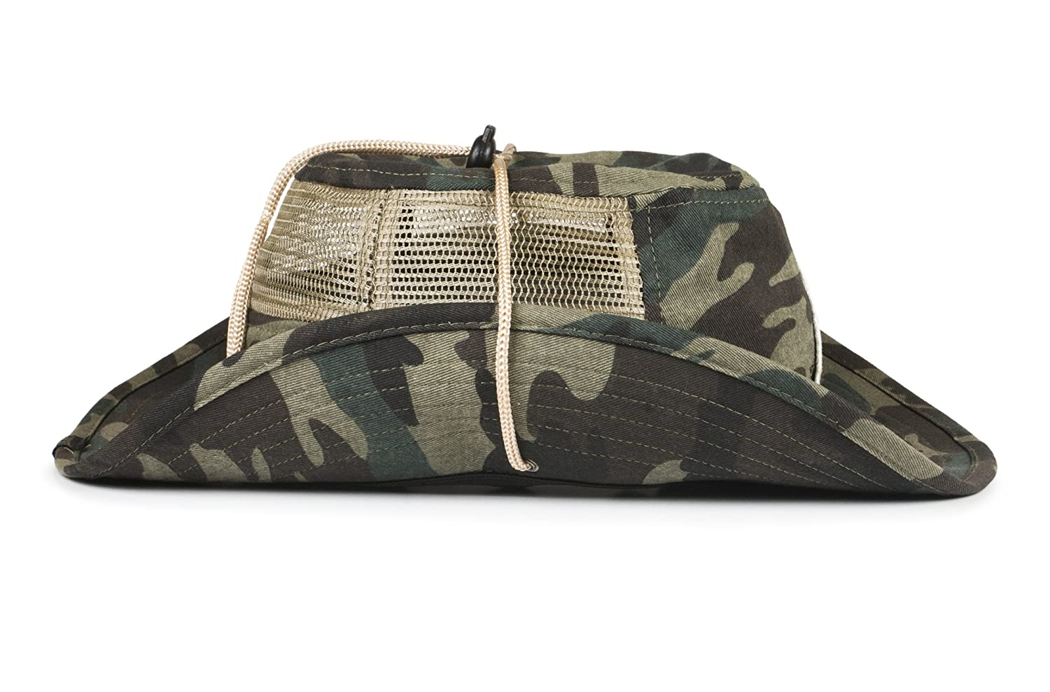 b278e695 Cowbucker Collegiate Boonie Hat   Officially NCAA Licensed (OSFA,  Appalachian State Camo) at Amazon Men's Clothing store: