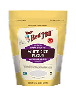 Bob's Red Mill Gluten Free White Rice Flour, 24 Ounce