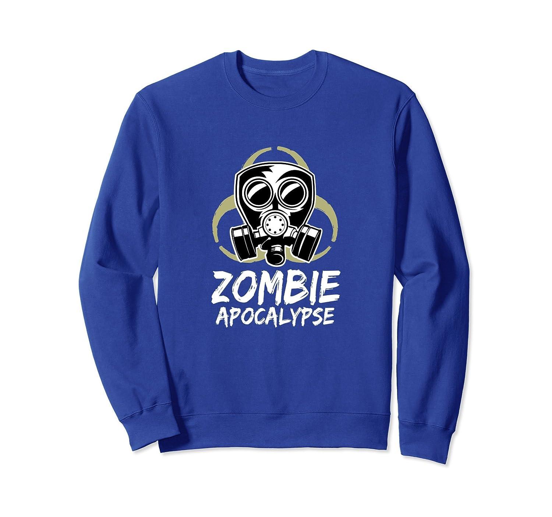 Zombie Apocalypse Halloween Sweatshirt-ANZ