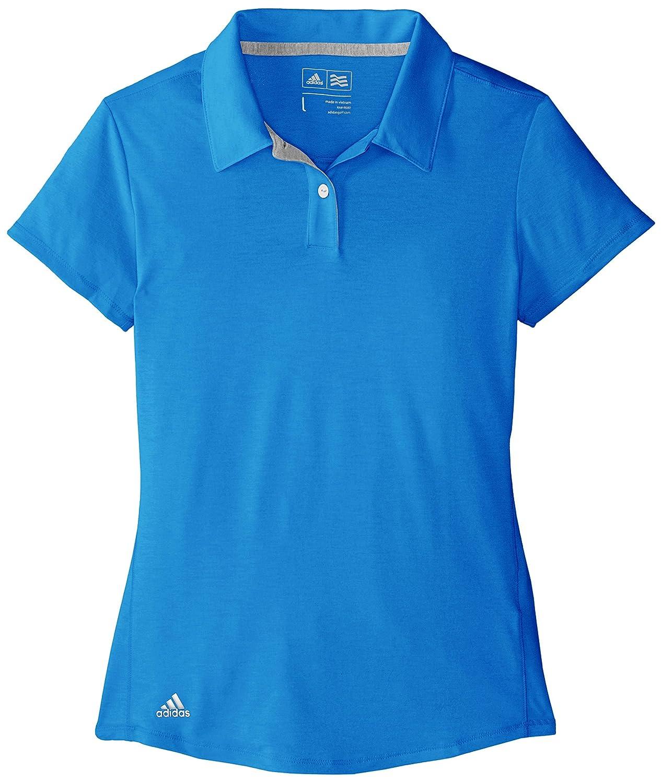 adidas Golf Niñas Essentials Climalite Jaspeado de Manga Corta ...