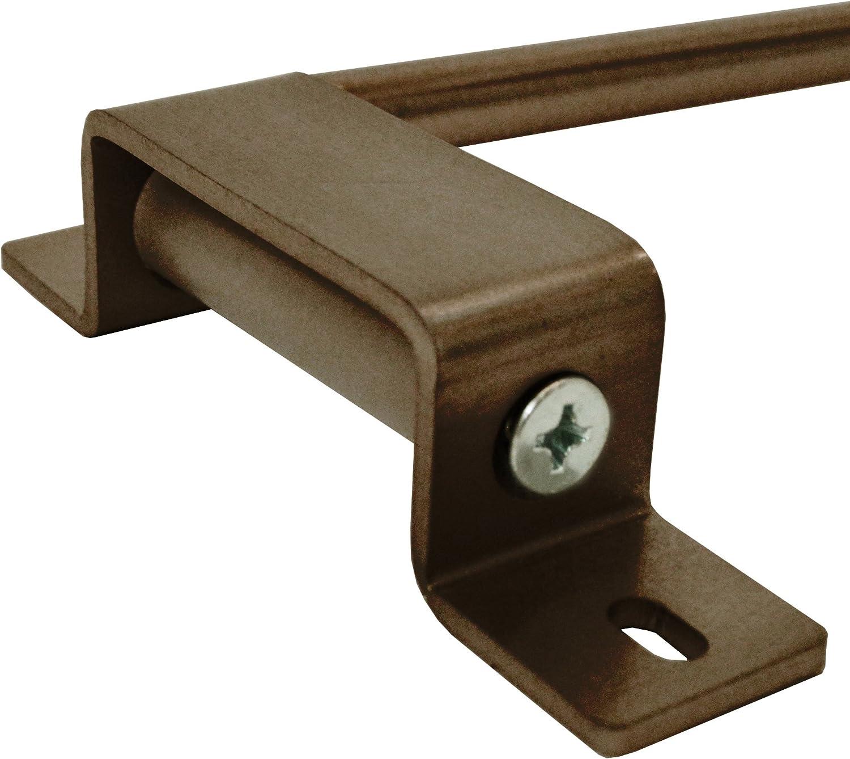 Achim Home Furnishings 20-36 Nickel Innovative Swing Arm Rod