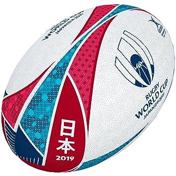 9c0da5d486037d Gilbert Unisex's Rugby World Cup Japan 2019 Supporter Ball, Multi-Colour,  ...