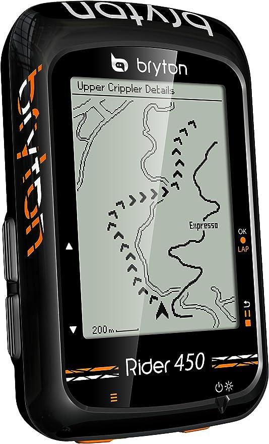 Bryton Rider 450E GPS Ciclismo, Adultos Unisex, Negro, 2.3 ...
