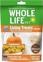 Whole Life Pet Living Treats USA Freeze Dried Pumpkin Treats for Dogs