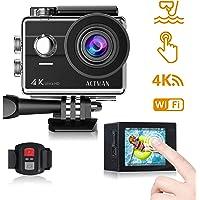 ACTMAN 4K 16MP Underwater Waterproof Sports Camera with WiFi