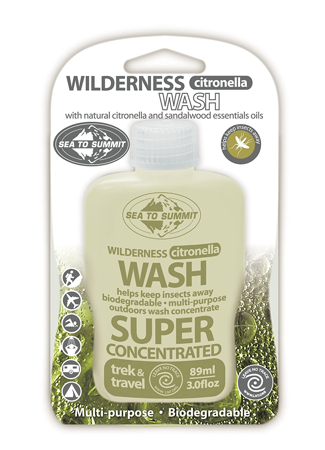 Sea to Summit Wilderness Wash Citronella 89ml/3oz 0oz 374C