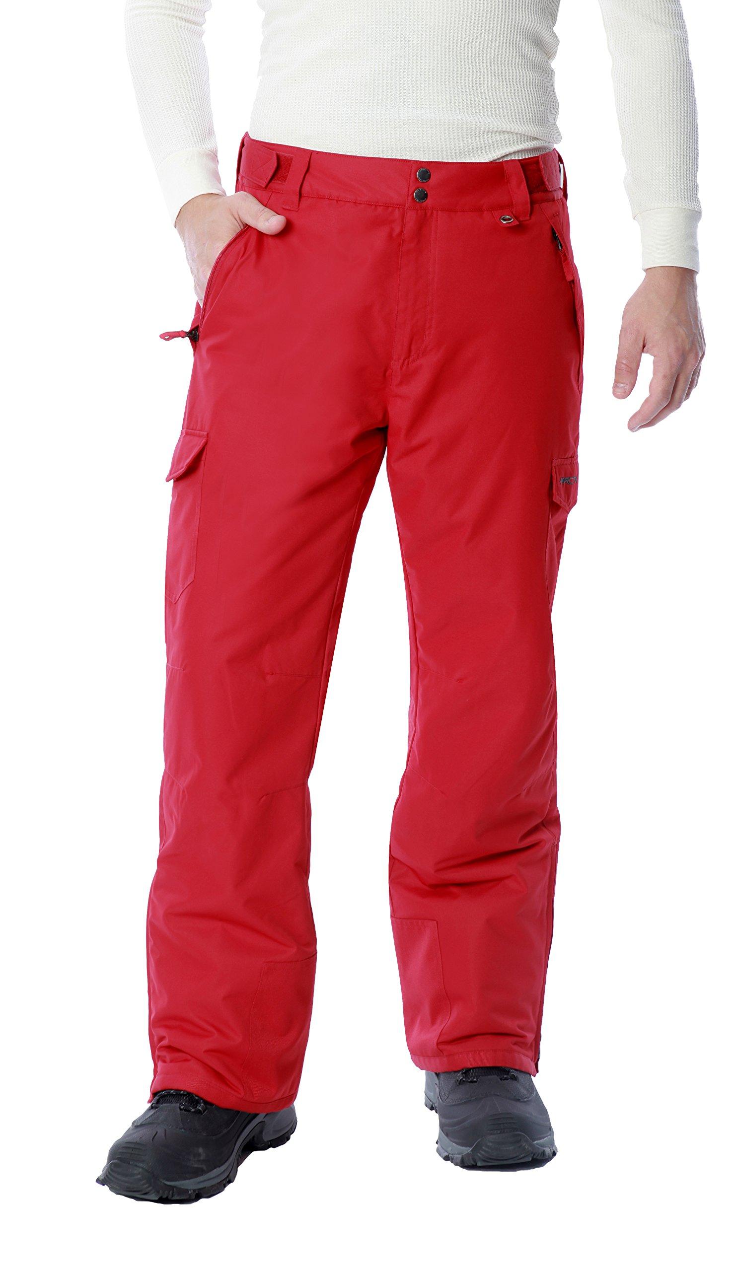 Arctix Men's 1960 Snow Sports Cargo Pants, Small, Vintage Red