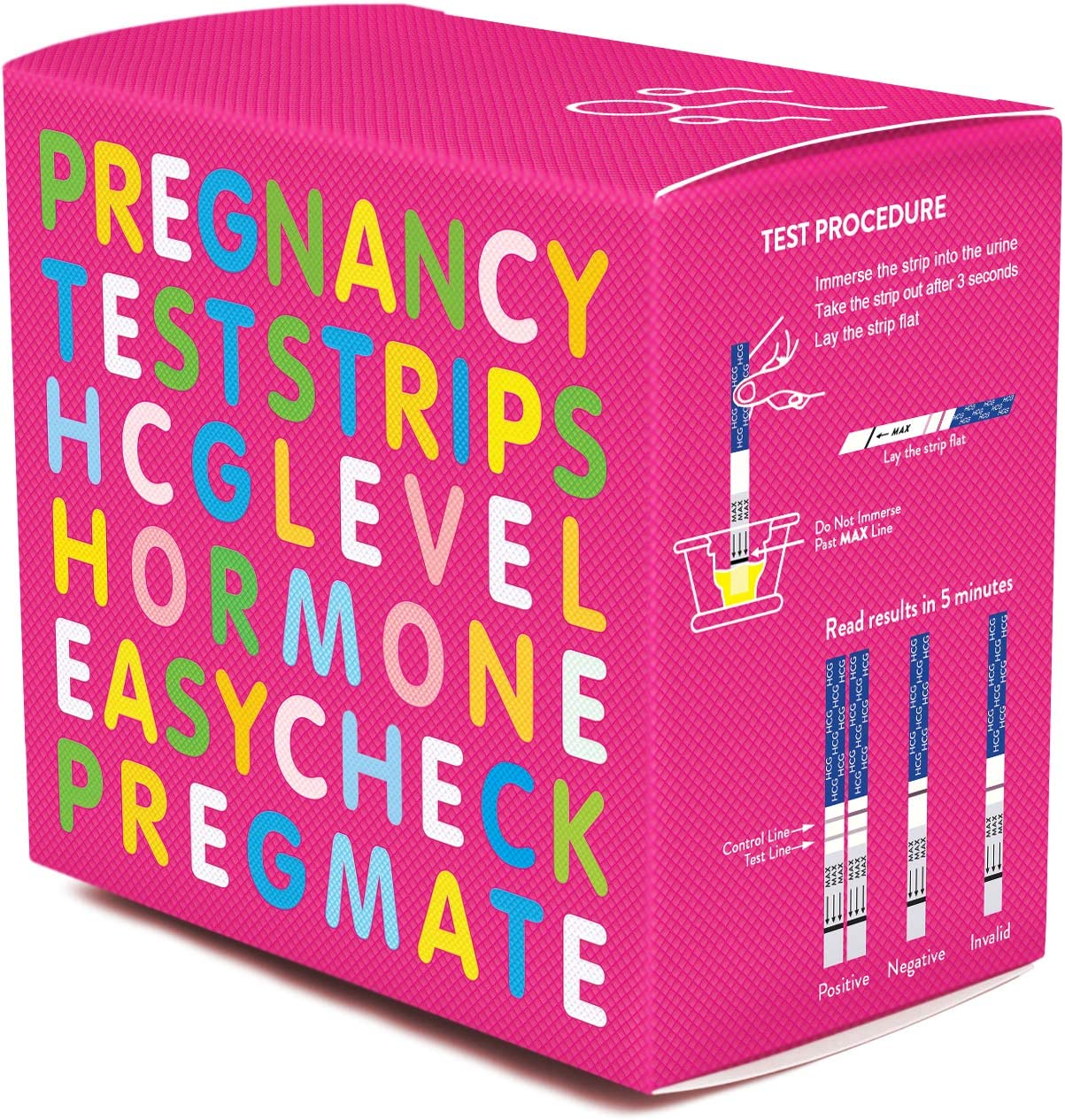 PREGMATE 40 Pregnancy HCG Test Strips (40 HCG)