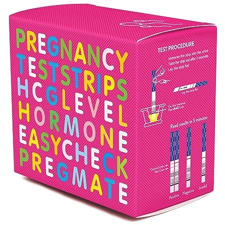 PREGMATE 50 Pregnancy HCG Test Strips (50 HCG)
