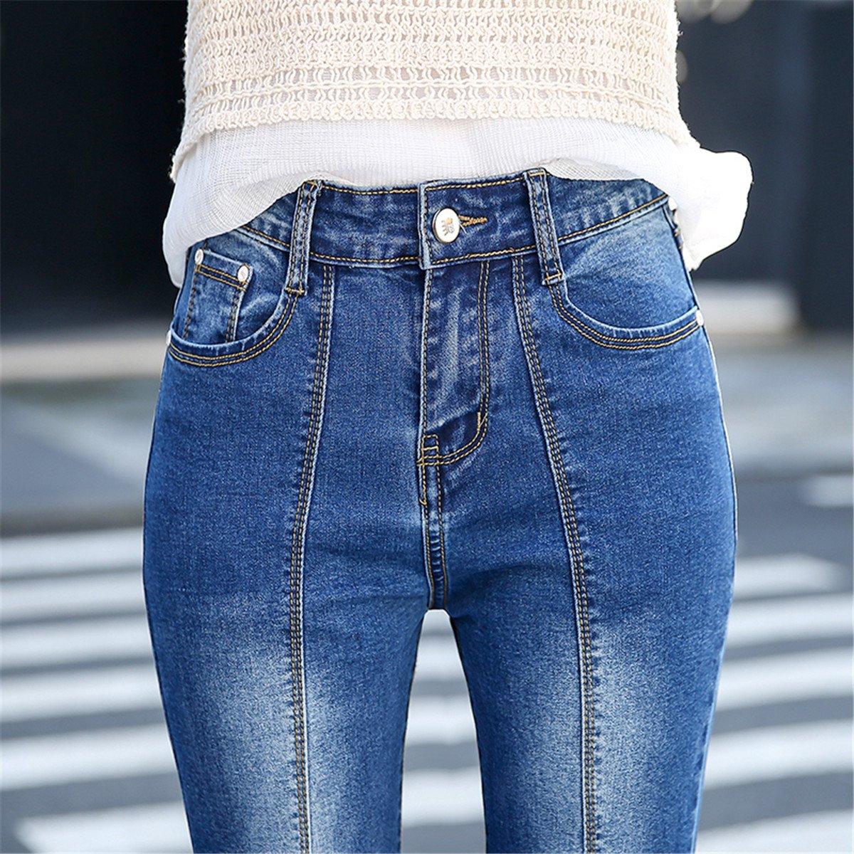 Amazon.com: Flared Jeans - Pantalones vaqueros para mujer ...