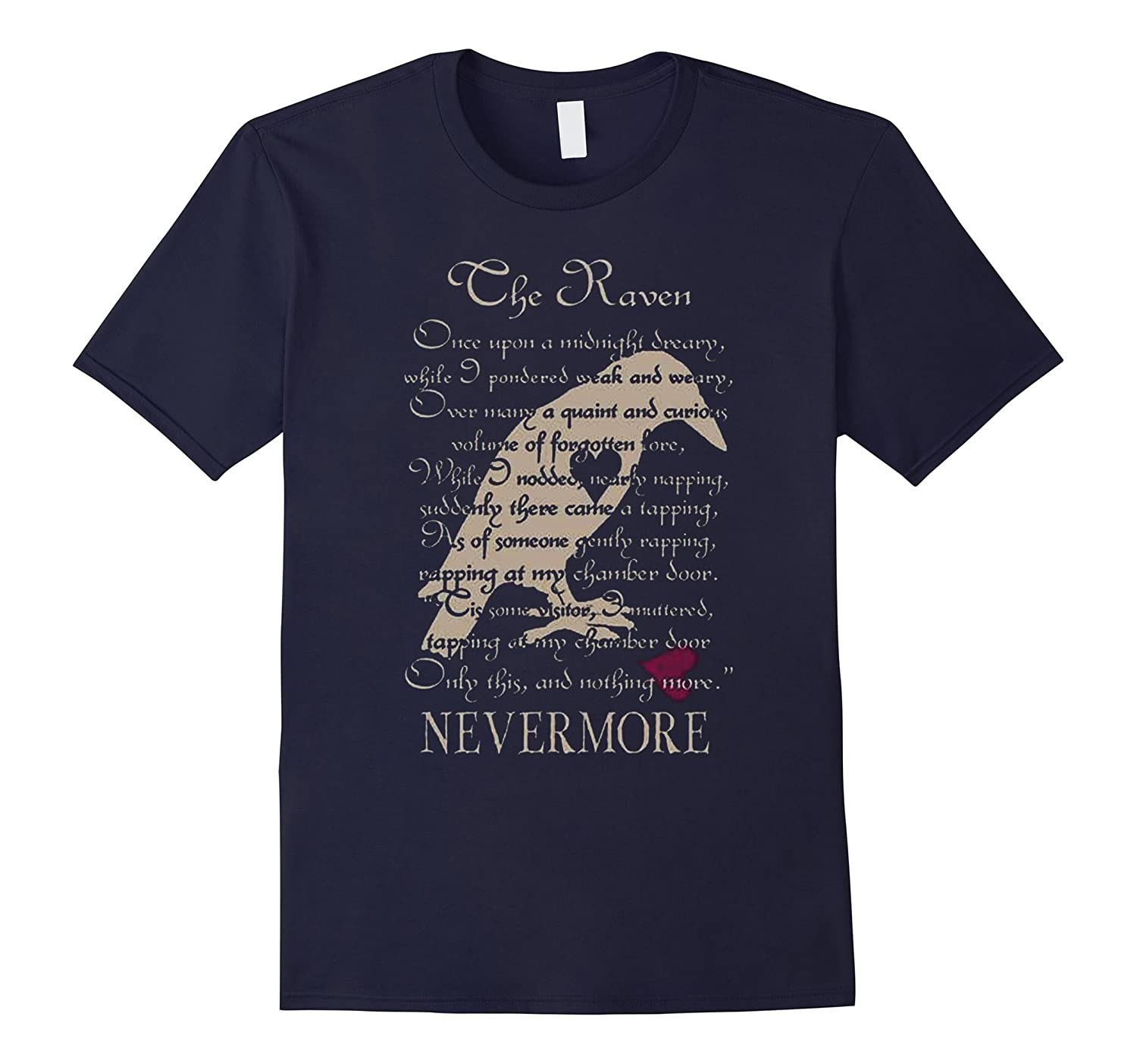 The Raven Nevermore Shirt-Art