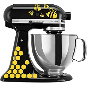 Bumble Bee Vinyl Decal Sticker for Kitchen Mixers