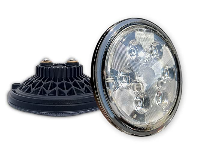 Aero-Lites LED Landing Light - PAR36 Drop-in Replacement for GE4509 14-28  volt