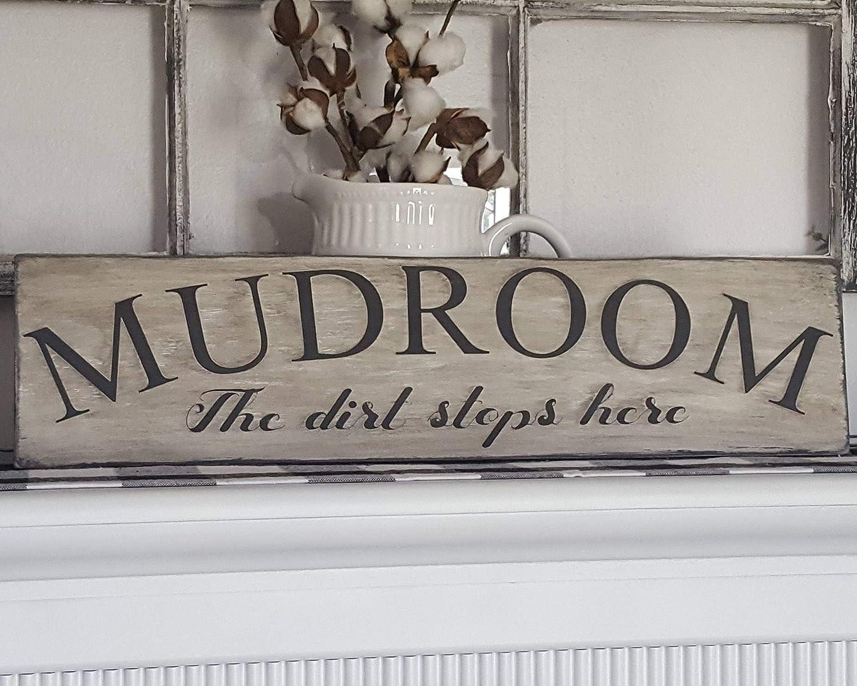 Tamengi Mudroom Sign, mudroom Wall Decor, Rustic Home Decor, Farmhouse Decor, Farmhouse Sign, Cottage Decor