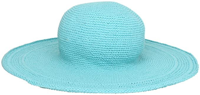 503fc82abd9 San Diego Hat Company Women s Cotton Crochet 4 Inch Brim Floppy Hat   Amazon.ca  Clothing   Accessories