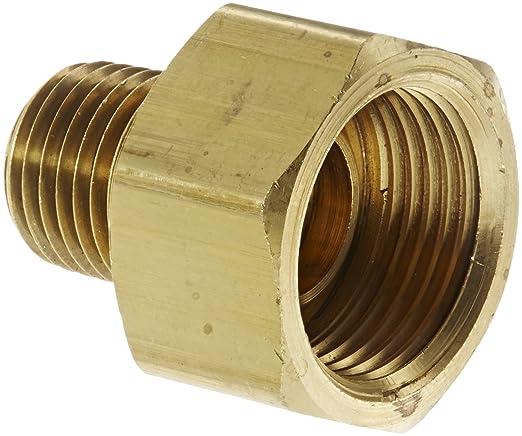 Adapter 1//2 NPT Male x 1//2 SAE Male Eaton Weatherhead 48X8X8 Brass CA360 SAE 45 Degree Flare