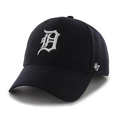 47 Detroit Tigers MVP Gorra Ajustable (Azul Marino)  Amazon.es  Deportes y  aire libre ba1aaa4f749