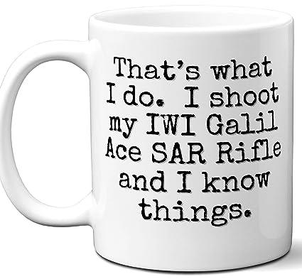 Amazon com: Gun Gifts For Men, Women  IWI Galil Ace SAR