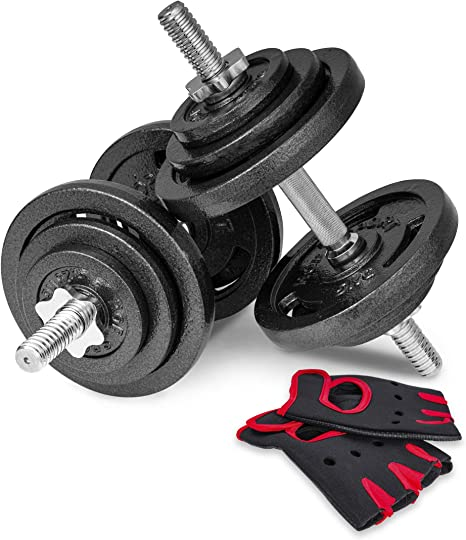 Gewicht:1x 15kg Hantelscheiben Gusseisen 30mm 5 10 15 20 kg Hantel Gewichte Scheiben Fitness