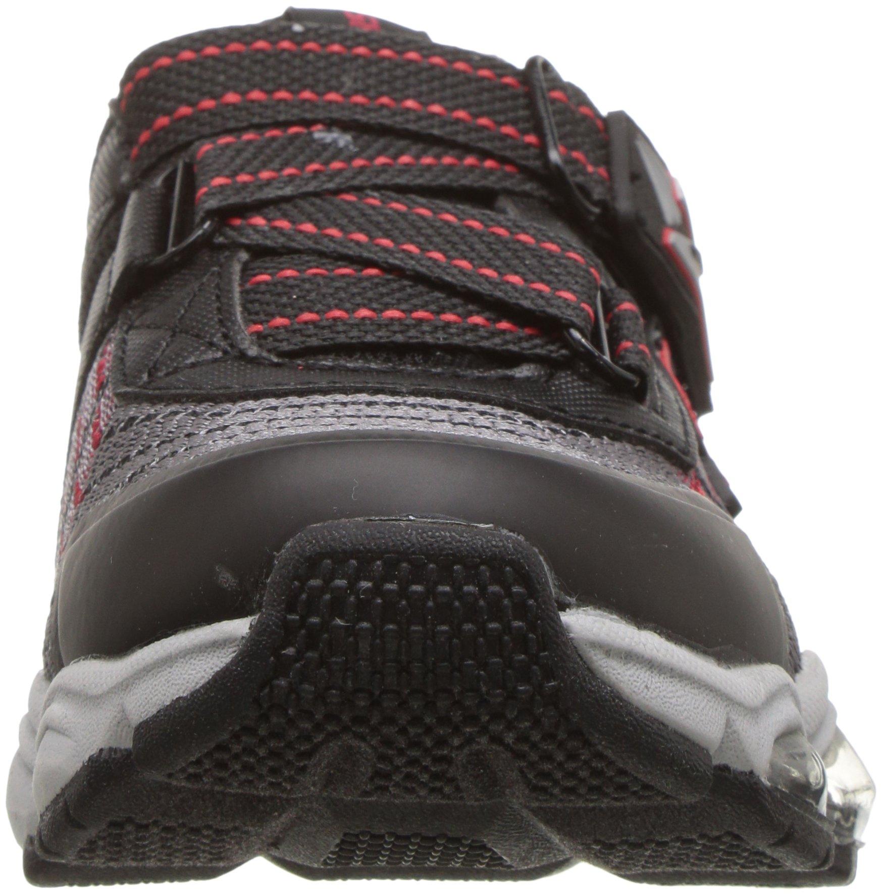 Skechers Kids Boys' Turbo-Flash-90596L Sneaker,Black/red,3 Medium US Little Kid by Skechers (Image #4)