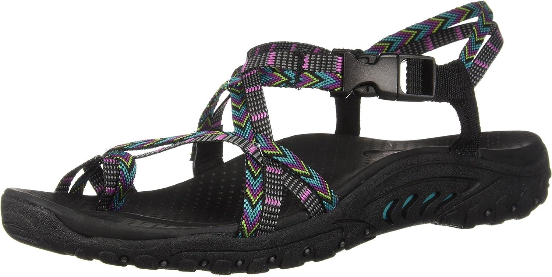 Skechers Women's Multi-Strap Courier shipping free Sport Sandal Many popular brands