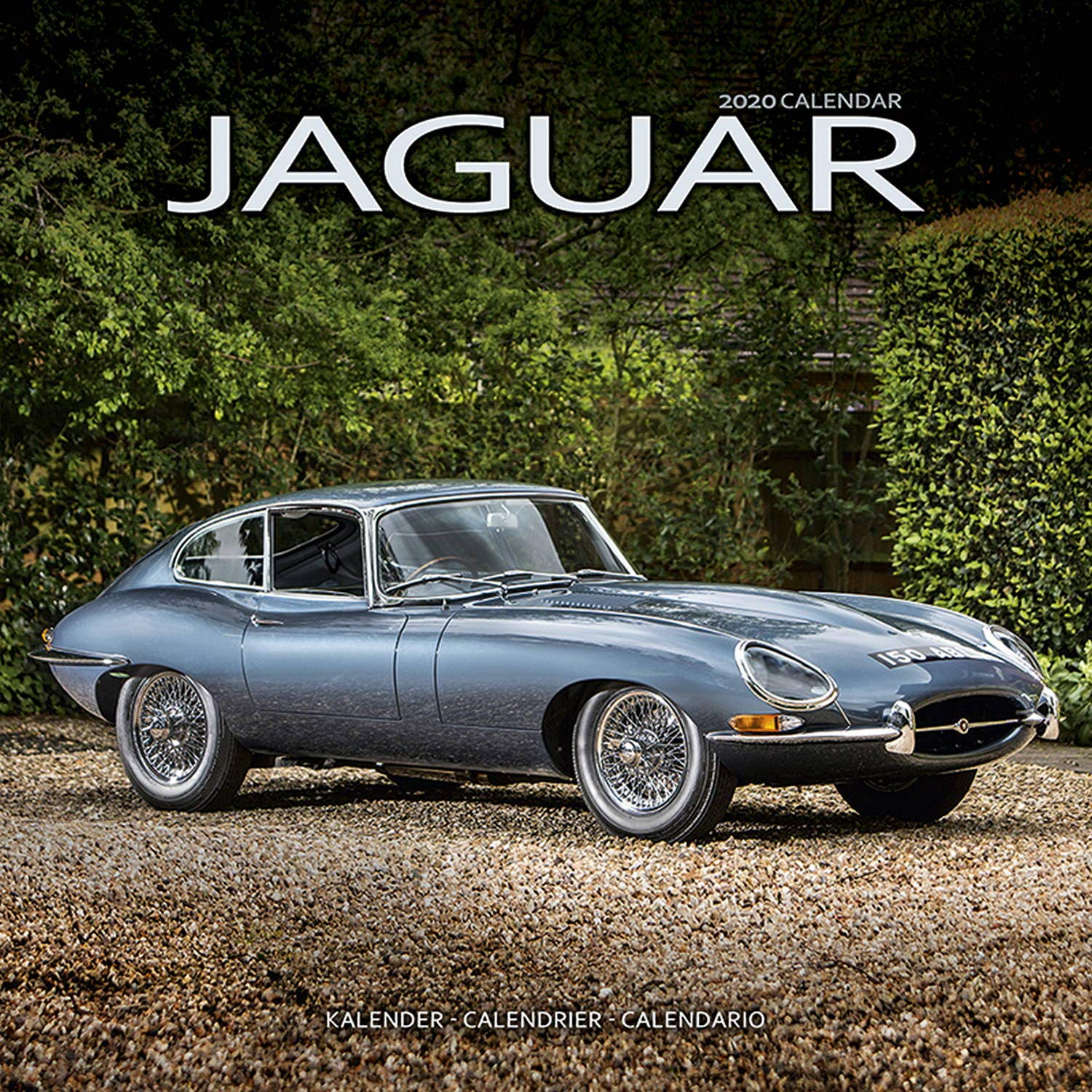 Calendrier Fun Car 2020.Jaguar Calendar Calendars 2019 2020 Wall Calendars Car
