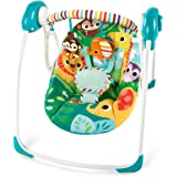 Bright Starts Safari Surprise Portable Swing