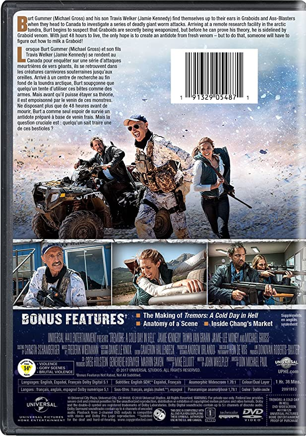 Tremors A Cold Day In Hell Sous Titres Franais Amazon Jamie