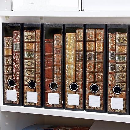 Archivadores, diseño de libros