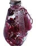 フジテレビ月9ドラマよりオファーがくる東京ミリオンフラワーの高価なバラ入り ハーバリウム プリザーブドフラワー (レッドローズ林檎)