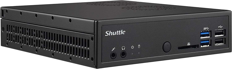 Shuttle XPC Slim DH110SE Mini Barebone PC Intel H110 LGA 1151 Kabylake/Skylake Heatpipe Cooling Module No CPU No Ram No HDD/SSD No OS