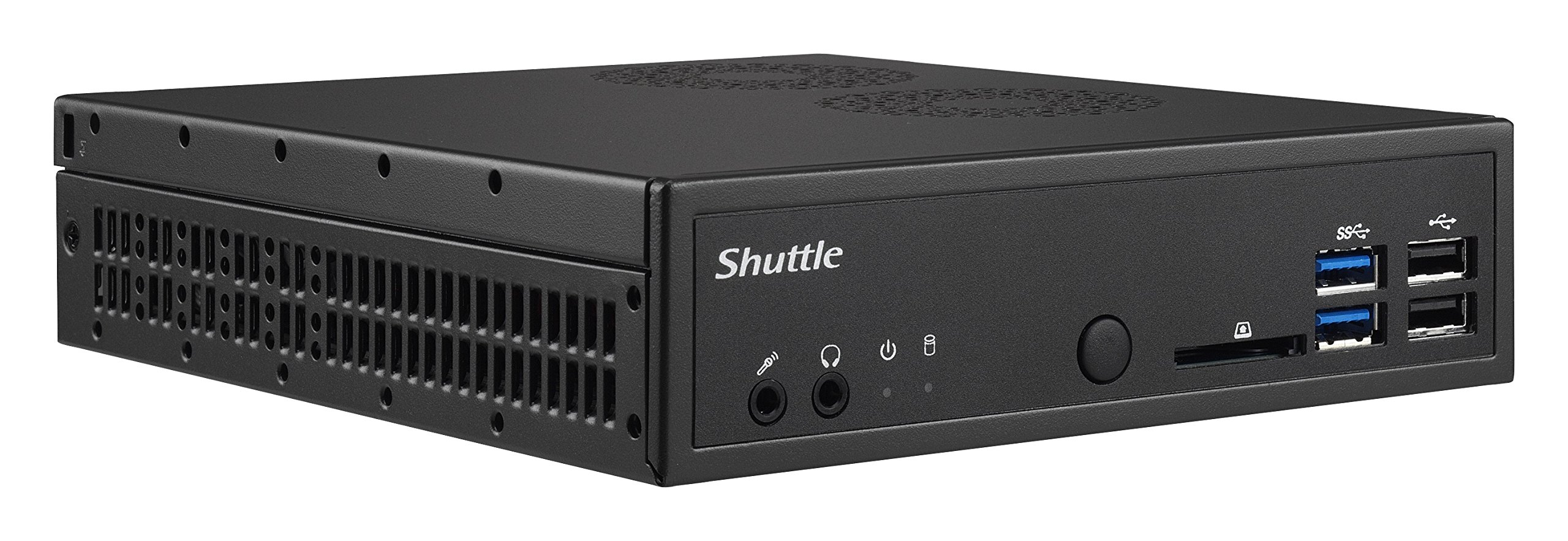 Shuttle XPC Slim DH110SE, Intel Skylake H110 chipset LGA 1151 i3/i5/i7/Pentium, Support SODIMM DDR4, Heatpipe Cooling Module
