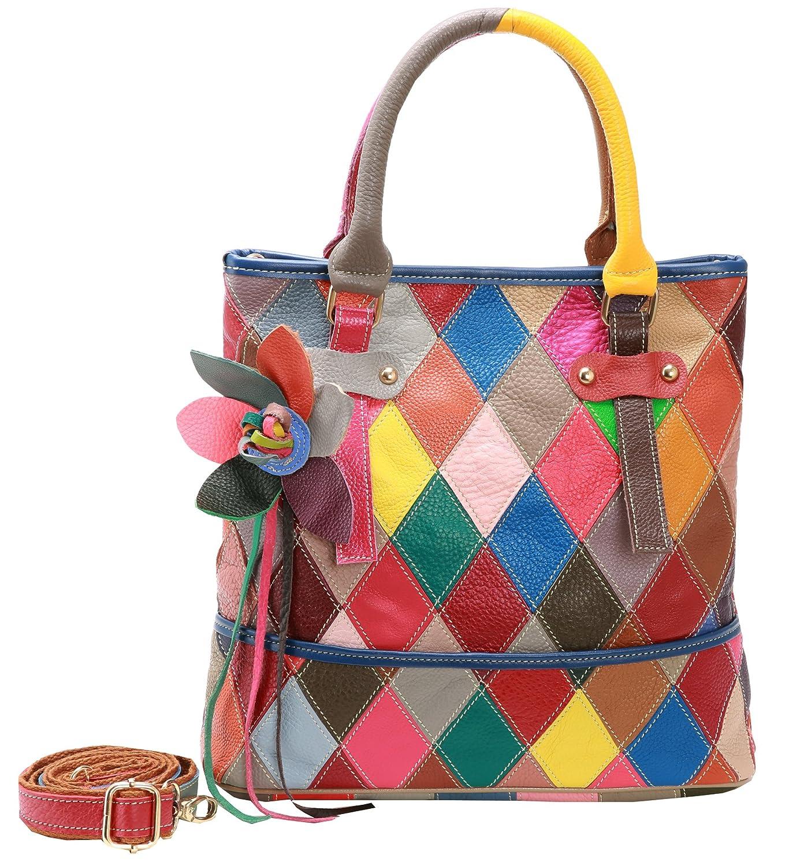 Heshe womens multi color shoulder bag hobo tote handbag cross body purse  shoes jpg 1359x1500 Multicolor a4a42234da1b8