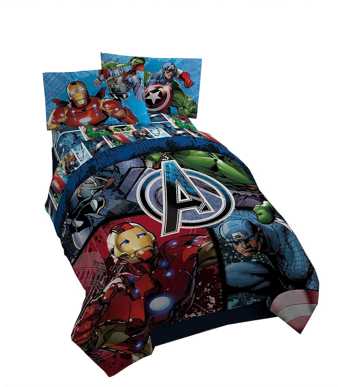 Avenger Assemble Twin/Full Comforter Mon-Tex Mills Ltd.