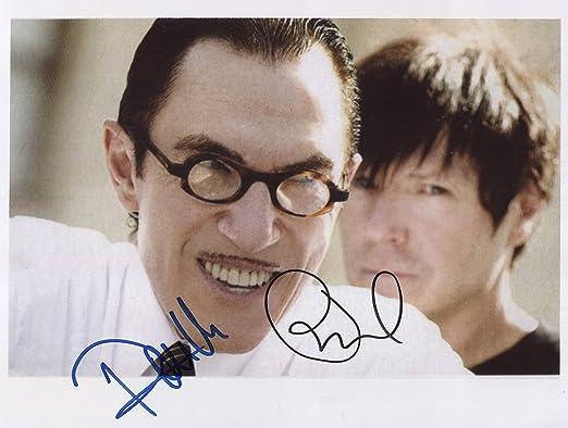 Foto firmada por Sparks (Band) Ron & Russell Mael de 8 x 10 ...