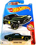 Hot Wheels, 2016 Then and Now, '68 Shelby GT500 [Green] Die-Cast Vehicle #105/250