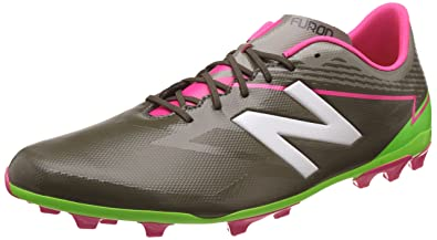 c87df04c6 new balance Men's Furon 3.0 Dispatch AG Military Green and Alpha Pink Football  Boots - 10