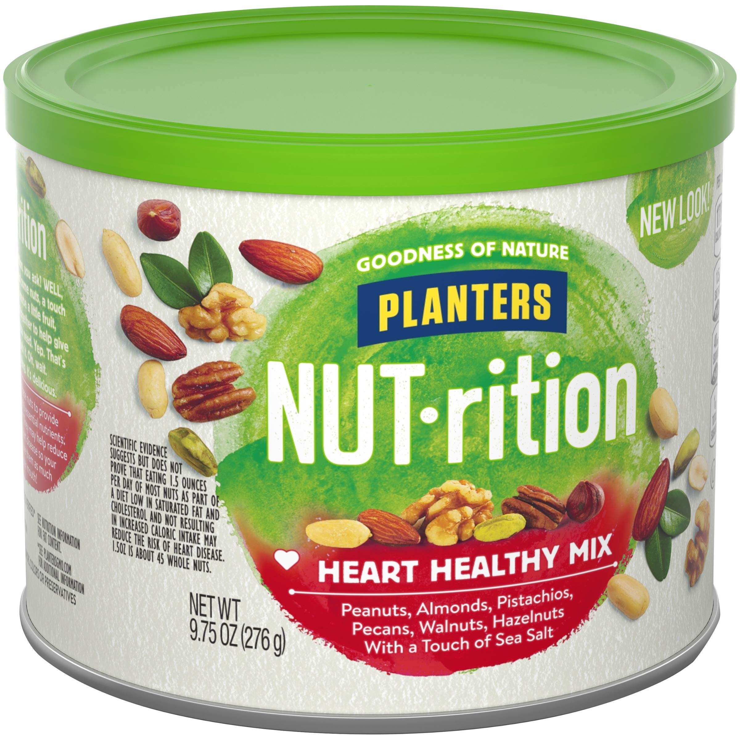 NUTrition Heart Healthy Snack Nut Mix (9.75oz, Pack of 3) by Planters (Image #7)