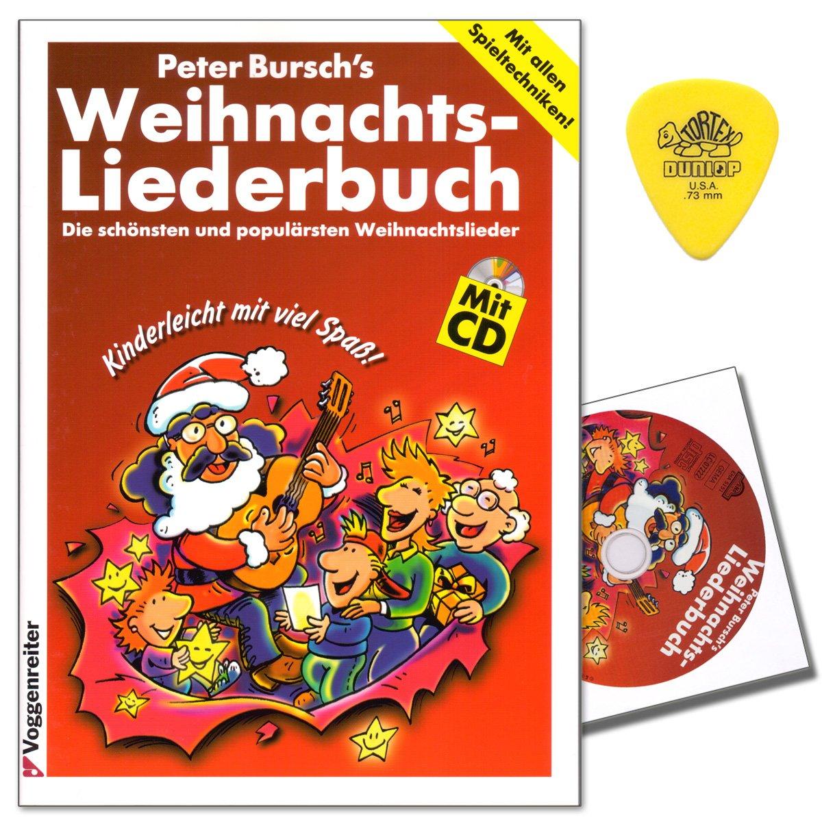Peter Bursch\'s Weihnachtsliederbuch mit CD, Plek - die schönsten und ...