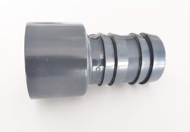 R/éduction conique cannel/é 50mm Male ou 40mm Femelle vers 38mm Male PVC Pression PN16
