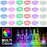 24-Pack Battery Operated 7.2FT Firefly Starry String Lights