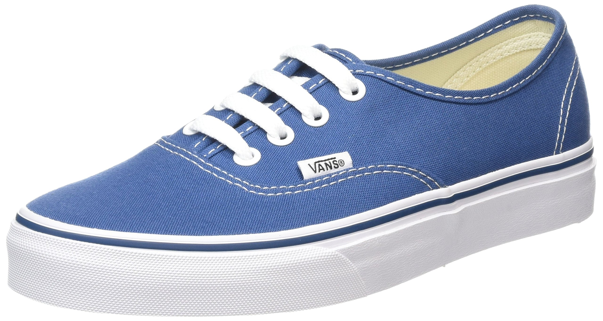 VANS VEE3NVY Unisex Authentic Canvas Sneakers, Navy, 9.5 B(M) US Women / 8 D(M) US Men by Vans