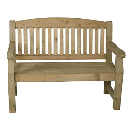 Awesome Forest Garden Forest Harvington Bench 4Ft Pressure Treated Caraccident5 Cool Chair Designs And Ideas Caraccident5Info