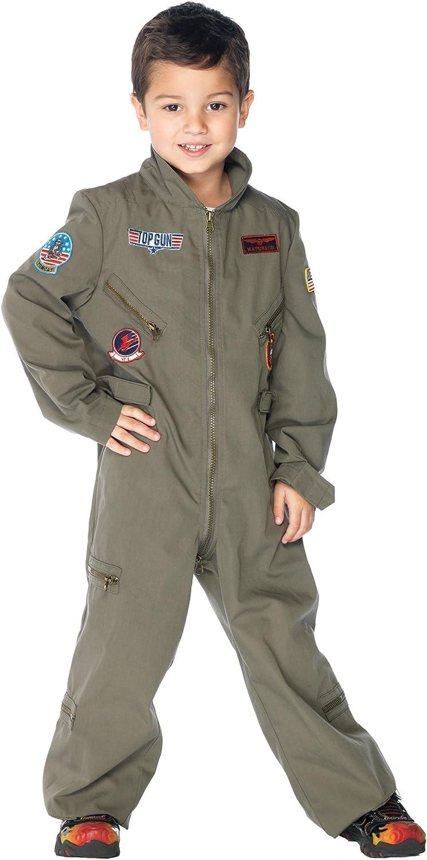 Top Gun Mens Adult Navy Fighter Jet Pilot Halloween Costume
