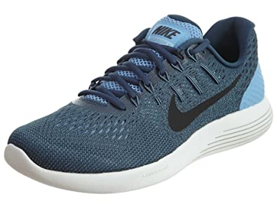 f646cf71636b Nike Men s Lunarglide 8 Running Shoe Light Blue Squadron Blue Ghost  Green Black 8  Buy Online at Low Prices in India - Amazon.in