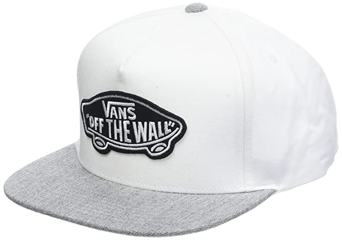 962174729 Vans Classic Patch Snapback Cap - White Heather Grey: Amazon.ca ...