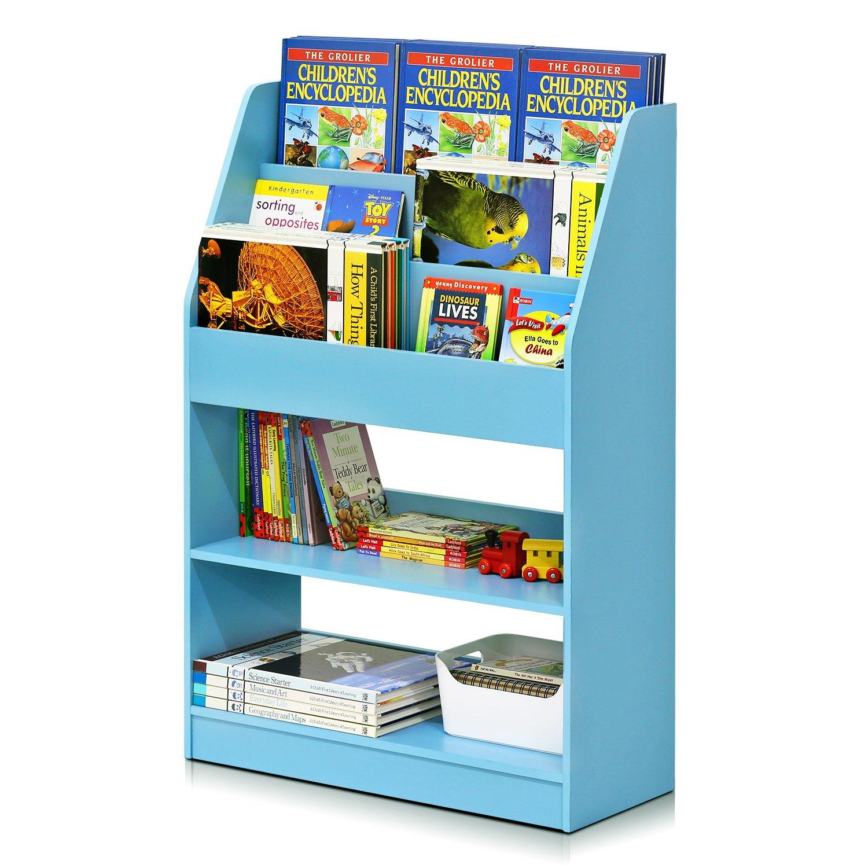 Furinno FR16118LB KidKanac Bookshelf, Light Blue by Furinno (Image #5)