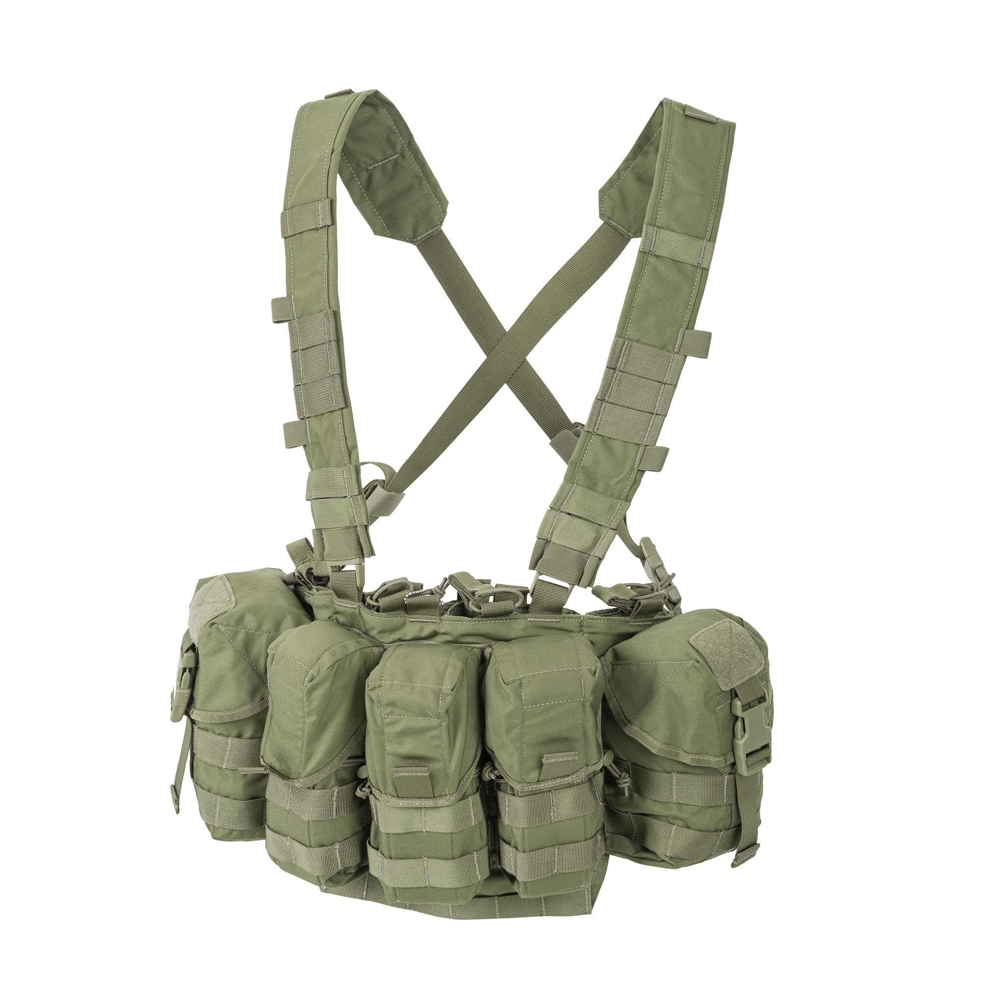 Helikon-Tex Patrol Line, Guardian Chest Rig Olive Green by Helikon-Tex