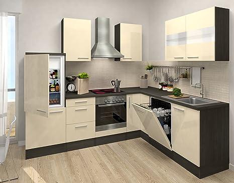 respekta cucina in blocco Premium L della cucina 260 x 200 cm ...